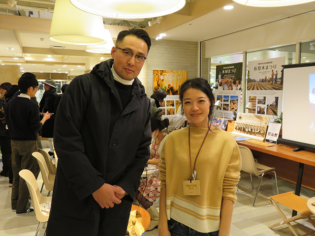 KEIHOKU Style の主催者の太田さんと