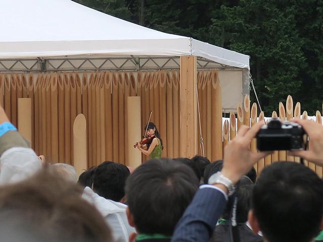 松尾さんのバイオリン