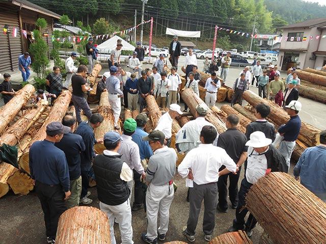 木材まつりで京都市長賞を受賞