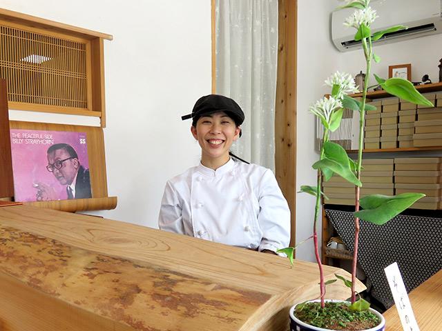 SOBA Café さらざん 店長の橋本さん