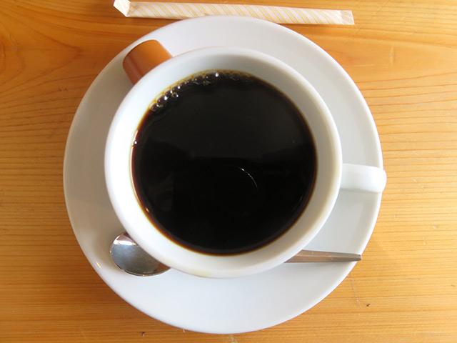 ガレットにコーヒーが付いてくる