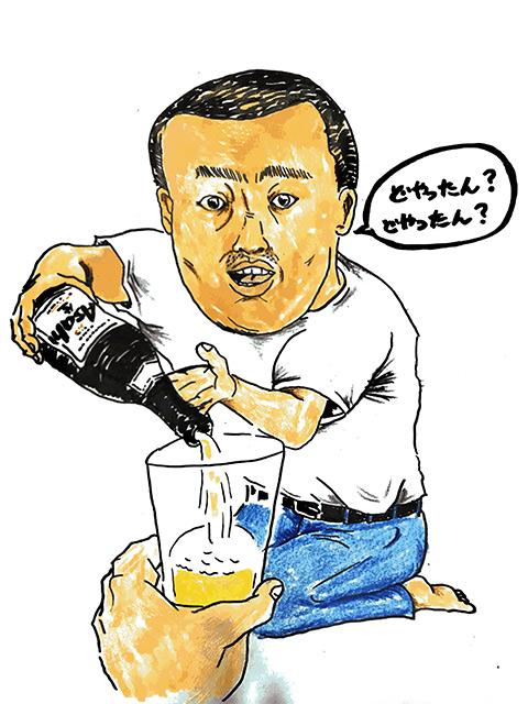 親族で集まったらアサヒの瓶ビール