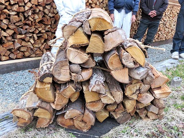 京都・京北産の薪を販売します