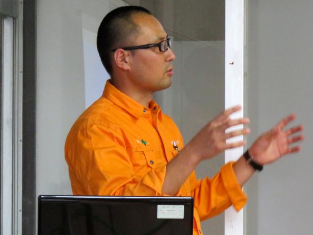 京都府立北桑田高校の普通科の1年生の授業で講師として参加
