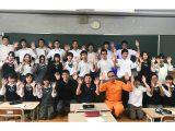 後輩たちへ地元で働くことの魅力を伝えたい!〜北桑田高校の授業に参加〜