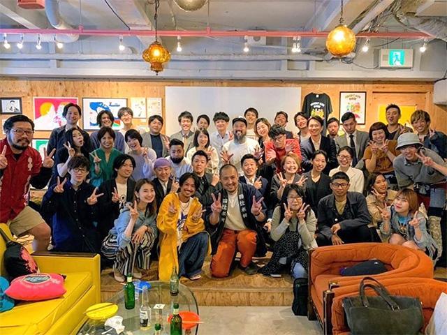 大阪アメリカ村のスピンズで開催されたTSUNAGARA NIGHT
