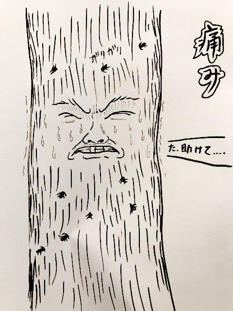 木も痛みを感じる