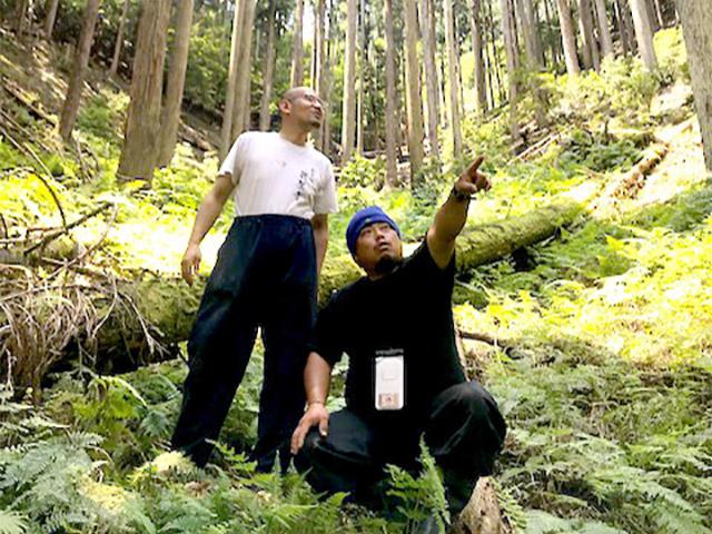【山と街が繋がるキッカケを探す】ハゲてしまったお寺のお庭に苔をアデランス!