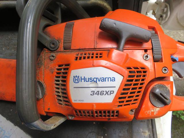ハスクバーナ346XP(約1年半使用、エンジンは50ccの原付と同じ