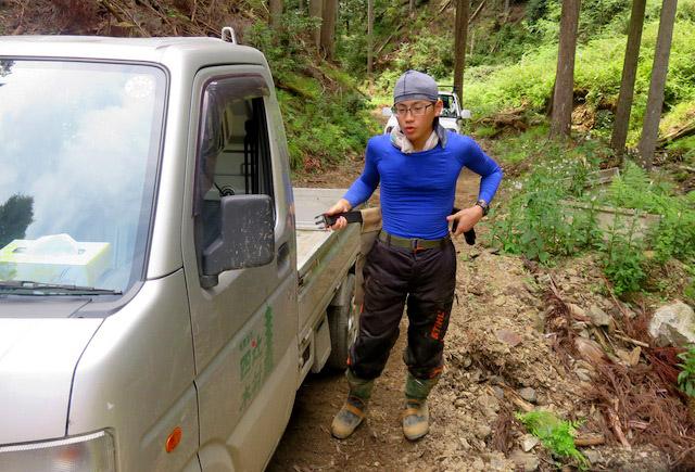 林業をしながら、その時の自分の興味ある商品を開発して作っていきたい