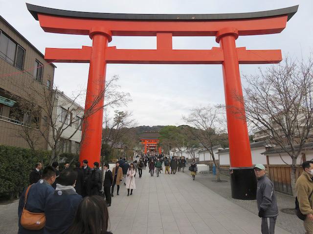 恒例の初詣、伏見稲荷大社へ参りました