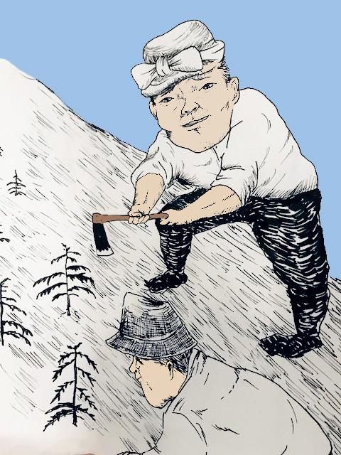 木を植えた先人の気持ちを汲む仕事