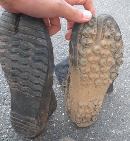 地下足袋の耐久性