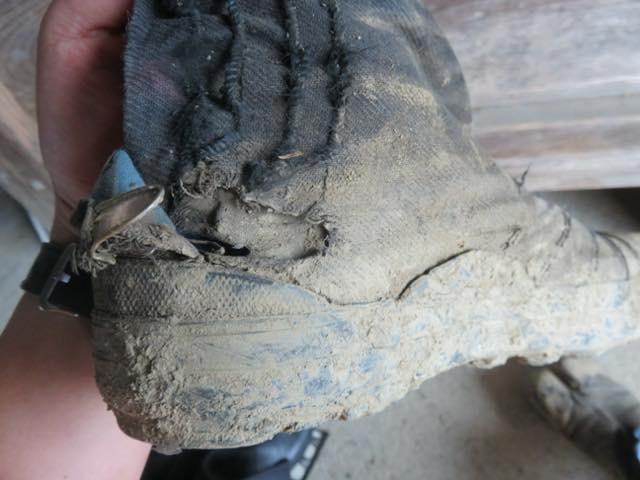 スパイク地下足袋の短所