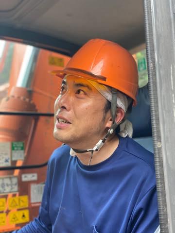 測量技師・松本さん